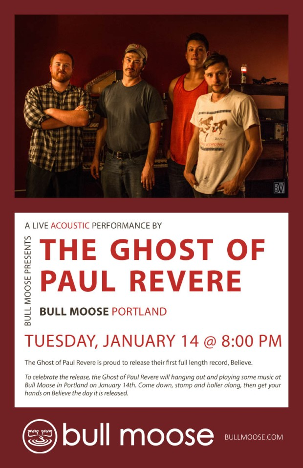 The Ghost Of Paul Revere CD Release In-Store