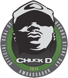 Chuck D is the Record Store Day Ambassador for 2014