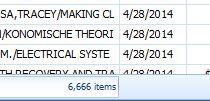 6666 items
